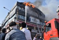 Fire kills at least 20 students in India