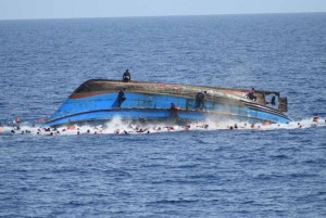 The United Nations said 164 people have died on the trek between Libya and Europe over the first four months of 2019