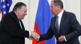 Pompeo, Lavrov talk in Russia ahead of Putin meeting