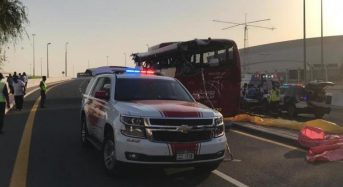 17 killed in Dubai bus crash