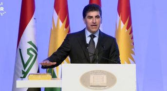 Kurdistan Region swears in Nechirvan Barzani as new president