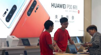 Huawei chief: 'U.S. cannot stop us'