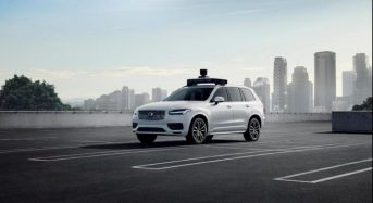 Volvo unveils first fully self-driving vehicle for Uber