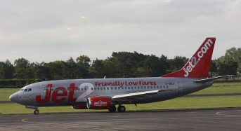 Woman arrested after causing disturbance on passenger plane from London