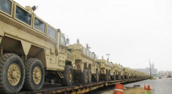 Egypt receives 101 more mine-resistant vehicles from U.S.
