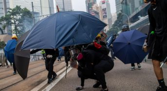 More than 100 arrested during pro-democracy protests in Hong Kong