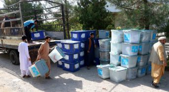Voter turnout low in Afghanistan's presidential election