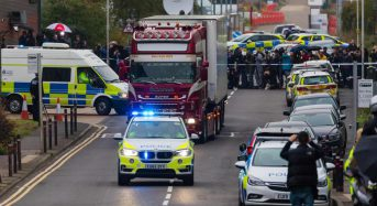 Driver charged with manslaughter in connection with 39 lorry deaths