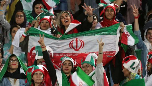 Iranian women allowed to attend soccer game for first time in 40 years