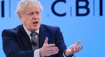 Johnson shelves tax cut at British conference; Corbyn vows 'investment'