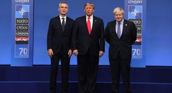 NATO summit: Trump talks Syria with Turkish leader, says 'it was time to leave'