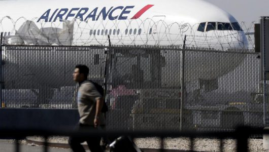 Body of child stowaway discovered in Air France plane's undercarriage