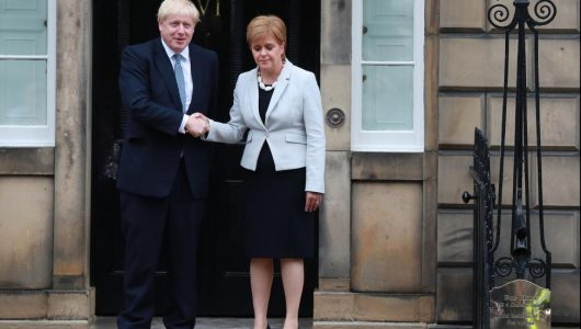 Boris Johnson rejects appeal for 2nd independence vote in Scotland