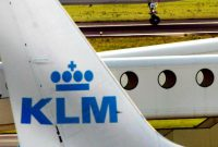 KLM denies racism behind Korean-language sign
