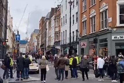 Police clear London's SoHo district after WWII bomb found
