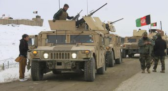 U.S., Afghan forces attacked in eastern Afghanistan