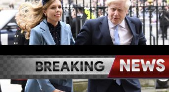 Boris Johnson's pregnant fiancee in bed for a week with coronavirus symptoms