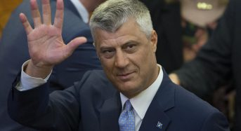 Kosovo President Hashim Thaci charged with war crimes